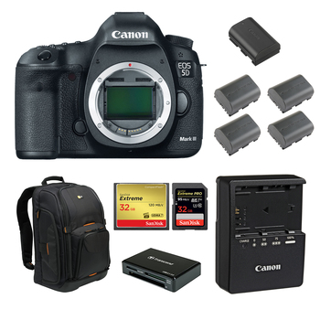 Rent Canon 5D Mark III (w/ Batteries, Cards, Reader)