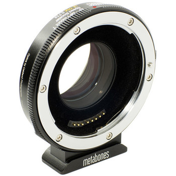 Rent Metabones T Speed Booster Ultra 0.71x Adapter for Canon Full-Frame EF-Mount Lens to Micro Four Thirds-Mount Camera