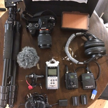 Rent Sony A7sII + Extras! (Lens, Mics, lights, tripods, Filters)