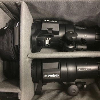Rent Profoto B1 2-light location kit with extras