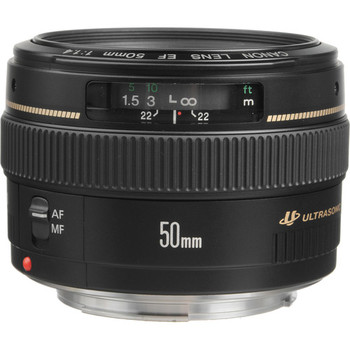 """Rent 50mm f/1.4 USM """"nifty fifty"""""""