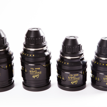 Rent Cooke Mini S4 Set of 4 (21mm, 32mm, 50mm, 75mm)
