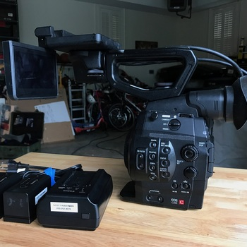 Rent Canon C300 Standard