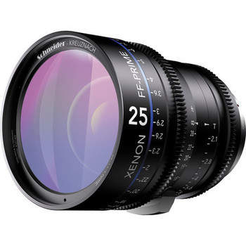 Rent Schneider Xenon FF 25mm T2.1 Lens (EF Mount, Feet)