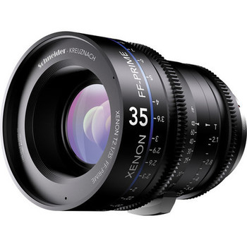 Rent Schneider Xenon FF 35mm T2.1 Lens with Canon EF Mount (Feet)