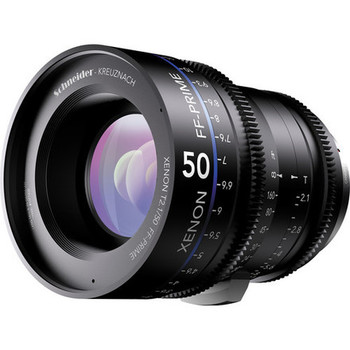 Rent Schneider Xenon FF 50mm T2.1 Lens with Canon EF Mount (Feet)