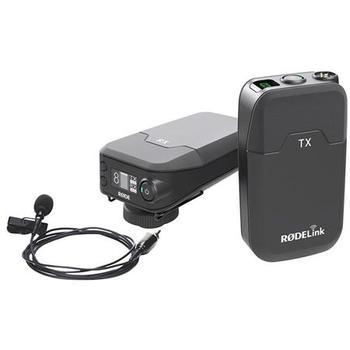 Rent Rode Microphones RODELink Digital Wireless System for Filmmaker, Includes TX-BELT Transmitter, RX-CAM Wireless Receiver, Lavalier Microphone, Captive TRS Cable