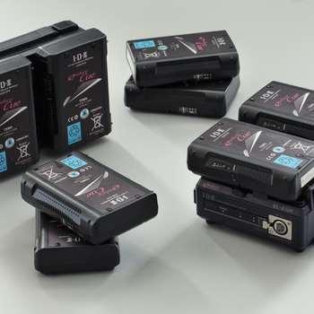 Rent (4) IDX Endura Cue V-Mount Batteries with Dual Quick Charger