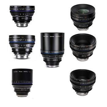 Rent Zeiss CP.2 EF 7x Lens Set