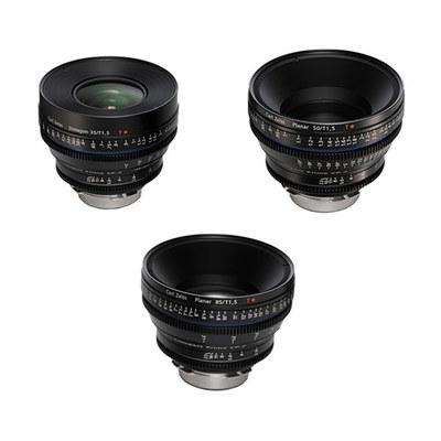 Zeiss cp2 3 lens kit
