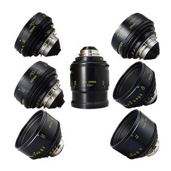 Rent Cooke Speed Panchro 7x Lens Set