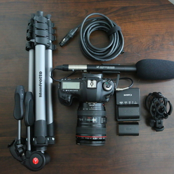 Rent 5Dmark 3 DSLR Kit