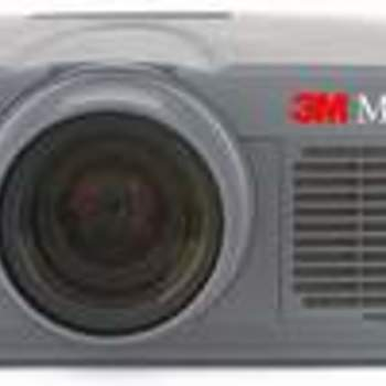 Rent Commercial / Professional duty 2000 LUMEN projector by 3M with remote & accessories