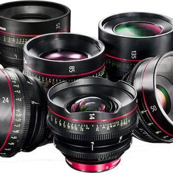Rent Canon Cine Lens Kit