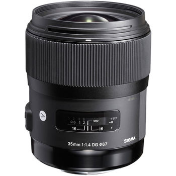 Rent Sigma 35mm f/1.4 lens