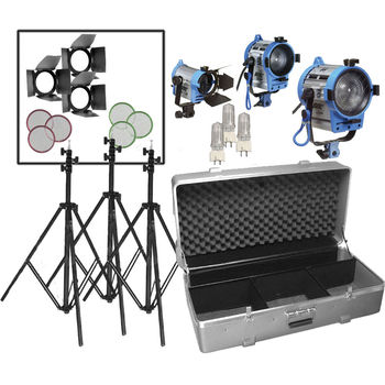Rent Arri Fresnel Standard 3 Point Kit (650, 300, 150)