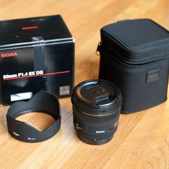 Rent Sigma 50mm f/1.4 Lens (EF Mount)