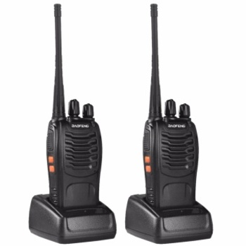 Rent Two-Way Walkie Talkie Set with Chargers