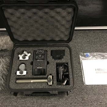 Rent Zoom H6n Rode NTG 3 Shotgun Mic Kit