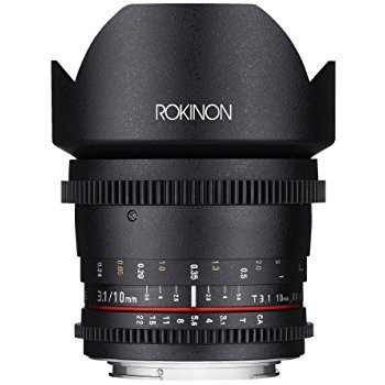 Rent Rokinon Cine CV10M-C 10mm T3.1 Cine Wide Angle Lens for Canon EF-S