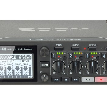 Rent Zoom F4 Digital Recorder w/ Time Code