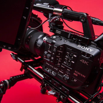 Rent Sony FS5 4K RAW Odyssey 7Q+ Recorder Package w/ Lenses, Shotgun and Metabones Adapter