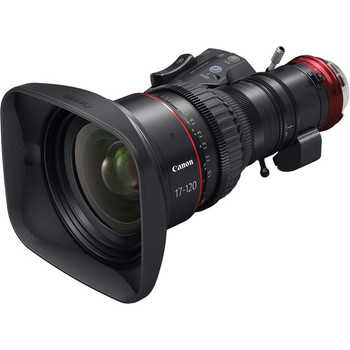 Rent Canon CN7x17 KAS S Cine-Servo 17-120mm T2.95 (EF Mount)