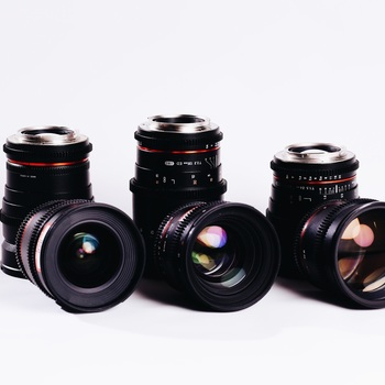 Rent Rokinon Lens Set