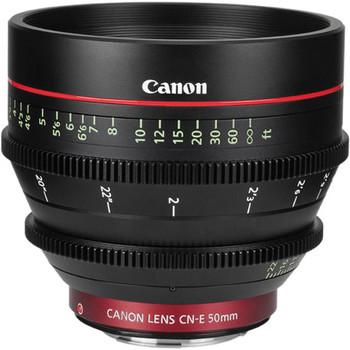 Rent Canon CN-E 50mm T1.3 L F Cine Lens