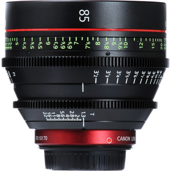 Rent The Canon CN-E 85mm T1.3 L F Cine Lens is an EF-mount