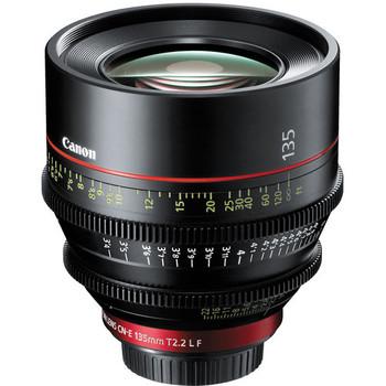 Rent Canon CN-E 135mm T2.2 L F Cinema Prime Lens (EF Mount)
