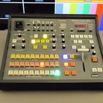 Rent Modified Grassvalley 110 ATEM Broadcast Panel