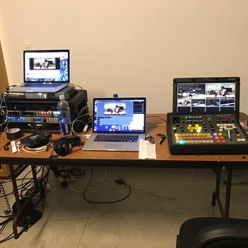 Rent Blackmagic Design Live Production in a case