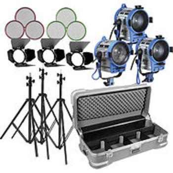 Rent Arri 3 Light Fresnel/Openface  Kit