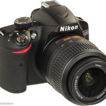 Rent Nikon D3200 DSLR Camera