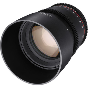 Rent Rokinon 85 mm 1.4 lens Canon mount - Manual focus