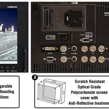 "Rent Marshall 8.4"" LCD Studio/Field Monitor"