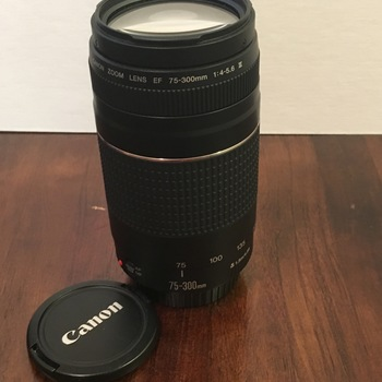 Rent Canon 75-300 f4-5.6