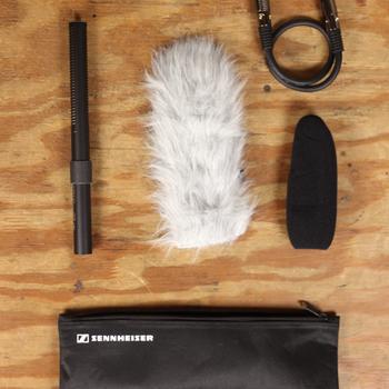 Rent Sennheiser MKE 600 Shotgun Microphone w/ Accessories