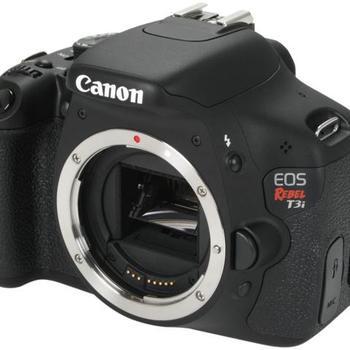 Rent Canon Rebel T3i (DSLR)