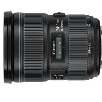 Rent Canon EF 24-70mm f/2.8L II USM with protective UV filter