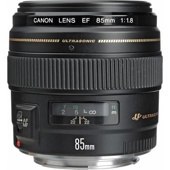 Rent Canon EF 85mm f/1.8 lens