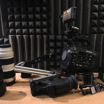 Rent Sony FS7 Kit: Lenses & SmallHD 501 Monitor