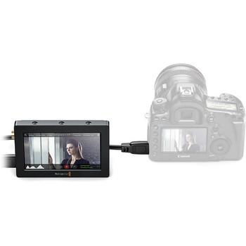 """Rent 1080 Monitor - Black Magic Video Assist 5"""""""
