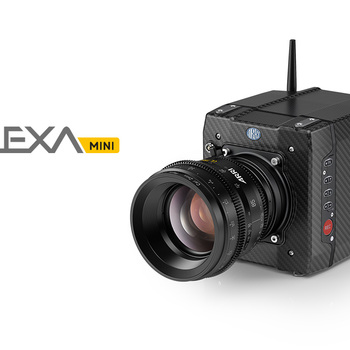 "Rent Alexa Mini Package with Arri RAW and 4:3 Licenses (Includes WCU-4 Follow Focus and 5.5"" TV Logic Monitor)"