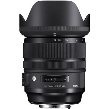 Rent Sigma 24-70mm f/2.8 DG OS HSM Art Lens for Canon EF