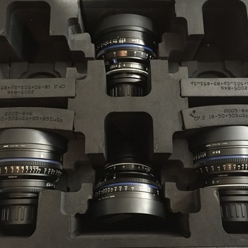 Rent Zeiss CP2 T1.5 SuperSpeed Set (25mm, 35mm, 50mm, 85mm) PL