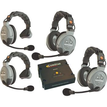 Rent Eartec COMSTAR XT 4-User Full Duplex Wireless Intercom System