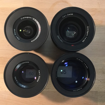 Rent Zeiss Contax Prime Lens Kit (EF)