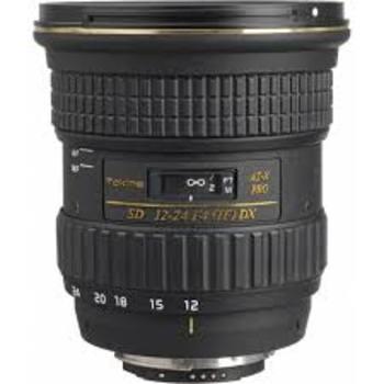 Rent Wide Angle Lens 12-24 F4 EF Mount